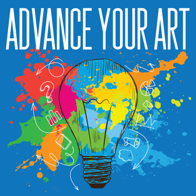 Advance Your Art is the podcast I wish I had when I was in art school. The goal is simple - empower artist and creatives to create their own opportunities and paths by learning the best strategies from others who have done it.  Each week we speak with a successful creative entrepreneur and find out what they did to get there and what takeaways every artist and creative can learn from them.  I interview singer/songwriters,  Grammy award-winning musicians, painters, dancers, writers, actors, glass blowers, designers, photographers, finances people who focus on creatives,  a professional origami artist who uses Instagram, makeup artists, and salespeople, and the list goes on.  Tune in to get ahead so you don't get left behind.