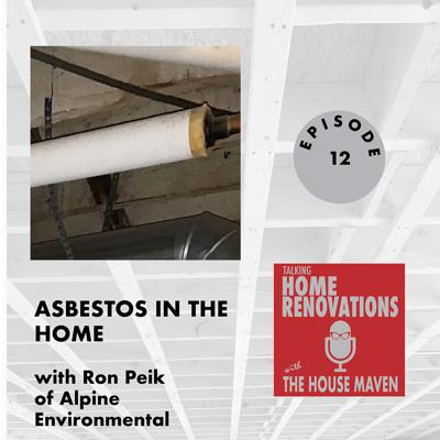Cover art for Asbestos in the home