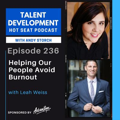 Cover art for Helping our People Avoid Burnout with Leah Weiss
