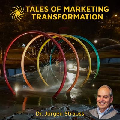 Tales of Marketing Transformation, hosted by internationally recognised transformational marketing strategist, speaker and podcaster, Dr Jürgen Strauss.  The Tales of Marketing Transformation podcast lays a firm foundation for your marketing journey.  Tune out all the black-magic and imagine a time where marketing has transformed into something human; where marketing is about building relationships with people you serve; where marketing is about helping people achieve and excel. That time is now. Time for Transformation.  Marketing is the very core of your business.  Marketing is about change - about helping people achieve; about providing opportunities to solve problems; about service.  Marketing is about making things and making things better; it's about creating.  Marketing is building relationships with the people you serve; it's about engaging your people with stories that resonate and spread your message.  Each episode of Tales of Marketing Transformation will provide one valuable lesson or message to guide you on your journey of Marketing Transformation.  Episode resources: https://talesofmarketingtransformation.com  Stay connected by subscribing at https://talesofmarketingtransformation.com/subscribe