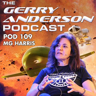 Cover art for Pod 109: Finishing Gerry Anderson's Final Project with M.G. Harris