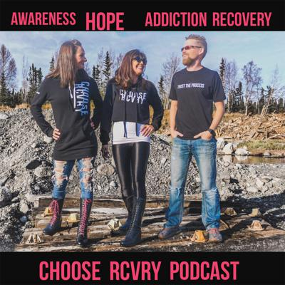 Choose RCVRY is a lifestyle apparel brand spreading awareness and hope for addiction recovery. We emphasize following God, rewriting your story, never giving up, and making a difference.   We exist to push back the hell of darkness that enslaves so many. Through apparel we empower you to remember and tell your story with the world. Together we can all work together for change. Together we can truly make a difference the way God intended for us. All together we are Choose RCVRY.  The Choose RCVRY Podcast aims to share real stories of transformation over addiction. We seek to spread the hope that change is indeed possible and that God still saves even from the darkest of places. Join us for the ride as we share in the excitement of what God is doing in our world today. We're based in Alaska and work in the recovery community here, but also desire to network throughout the US and even world.   Lastly, you'll also get an inside view as we pull back the curtain on the real life of real people behind our brand, Choose RCVRY.  Thanks for tuning in. Let's change the world together!