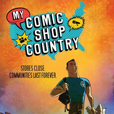 Cover art for My Comic Shop Country Companion: Commentary Track