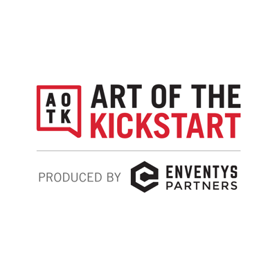 Roy Morejon of Art of the Kickstart and Enventys Partners interviews successful entrepreneurs and creators of popular crowdfunding campaigns on Kickstarter and Indiegogo to find out the keys to a successful project. The weekly show consists of a series of high-performing guests offering actionable advice paired with Morejon's insight from raising millions for crowdfunding clients with Command Partners.