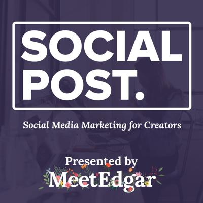 Social Post is your source for social media marketing news, strategies, tactics, and tips for creators and small businesses. Proudly brought to you by the team at MeetEdgar (https://meetedgar.com?utm_medium=podcast&utm_source=shownotes&utm_campaign=socialpost&utm_content=captivate_description)!