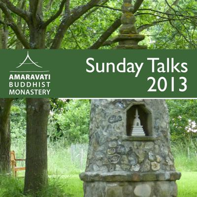Since 1986, Amaravati Buddhist Monastery offers Sunday talks during the traditional three-month rains retreat which runs from July until to the full moon of October. Please check www.amaravati.org for the schedule around this period of the year.