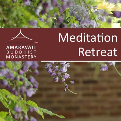 These are talks given during a meditation retreat uploaded to the Amaravati online audio collection. These talks are dhamma talks or guided meditation that were given during these retreats.