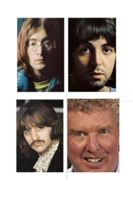 Cover art for Dan Shaughnessy Gets His Beatles On