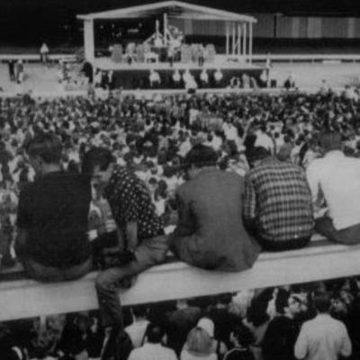 Cover art for The Beatles at Suffolk Downs