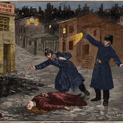 Cover art for Jack the Ripper
