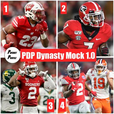 Cover art for Profiling the Build a Team Game and Dynasty Rookie Mock Draft