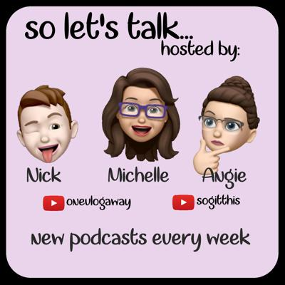Just some YouTube friends sitting around discussing the comings and goings of the world and other YouTube Creators! Join us for various guests with our Host, Michelle & Nick from onevlogaway & Co-host, Angie from SoGitThis