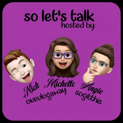 Cover art for So Let's Talk..    Get to know us & Chantals' Move    Episode 5
