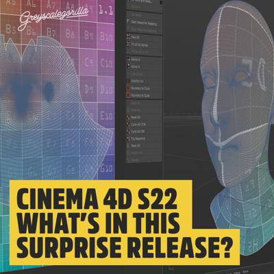 Cover art for Cinema 4D S22 - What is in this Surprise New Version?