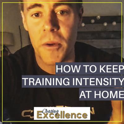 Cover art for #123: How to Keep the Training Intensity at Home (2:00, #16)