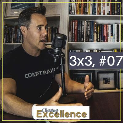Cover art for #122: Useful Supplements, Uncommon Exercises, & Trust Buiding (3x3, #07)