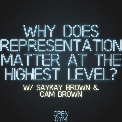 Cover art for Why does representation at the highest level matter?