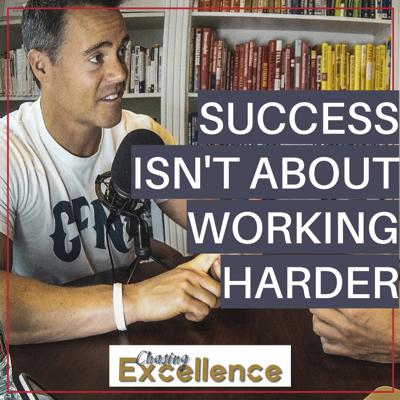 Cover art for #119: Success Isn't About Working Harder