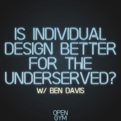 Cover art for Is individual design better for the underserved?