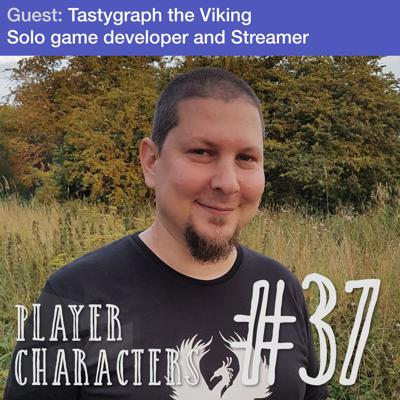 Cover art for How do you build a community | Tastygraph the Viking solo game developer and streamer