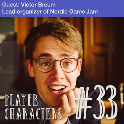 Cover art for Make art, not just games | Lead  organizer of Nordic Game Jam Victor Breum
