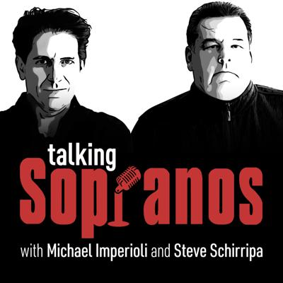 Sopranos co-stars Michael Imperioli and Steve Schirripa host the definitive Sopranos re-watch podcast. Michael and Steve follow the Sopranos series episode by episode giving fans all the inside info, behind the scenes stories and little-known facts that could only come from someone on the inside. Talking Sopranos also features interviews with additional cast members, producers, writers, production crew and special guests. Along with talking about the Sopranos, Michael and Steve will also share candid conversations about the entertainment business, their friendship and all the folks they've met along the way. This is a must listen for all Sopranos fans.