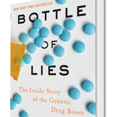 Cover art for IDEA Collider | Katherine Eban, author of Bottle of Lies