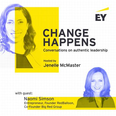 Cover art for Change Happens with Naomi Simson - Episode 3