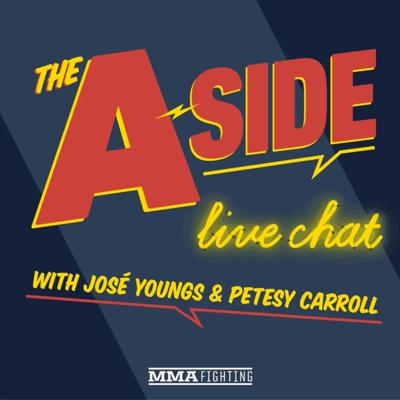 Cover art for The A-Side Live Chat: Conor McGregor's 'GOAT Thread,' Jorge Masvidal's next fight, 'Fight Island,' more