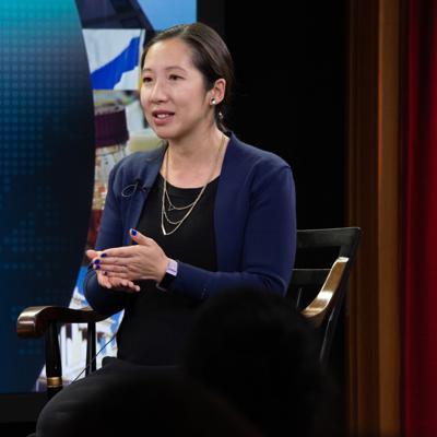 Cover art for Improving the Public's Health: A Conversation about Leadership with Dr. Leana Wen
