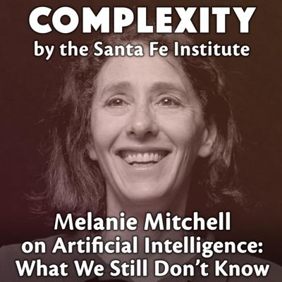 Cover art for Melanie Mitchell on Artificial Intelligence: What We Still Don't Know