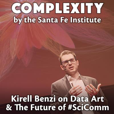 Cover art for Kirell Benzi on Data Art & The Future of Science Communication