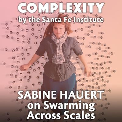 Cover art for Sabine Hauert on Swarming Across Scales