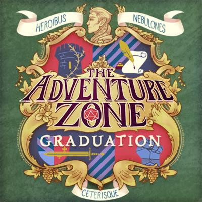 """Cover art for The Adventure Zone: Graduation Ep. 5 """"What's Yours is Mined"""""""