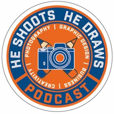 He Shoots, He Draws Podcast, the podcast about creativity, photography, graphic design, business and life! Hosted by Dave Clayton and Glyn Dewis, the show gives you a weekly look at the world of all the above. After almost 9 years of friendship, working on projects and teaching together, Glyn and Dave have decided to combine their knowledge and experience to create a podcast. So, grab a cuppa and join us as we chat about the things we admire, people that inspire us and loves and loathes in the industry. Straight, honest talk among friends with a bit of education and the occasional guest for good measure! Join us over on social media @heshootshedraws or at https://heshootshedraws.com