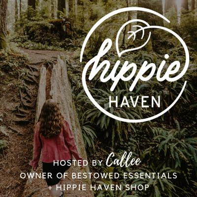 Every Wednesday on the Hippie Haven podcast, learn how to live harmoniously with yourself, others & the planet. We talk about all things hippie, including eating vegan, reducing your trash, starting an ethical business, eco-activism, gardening, beekeeping, tiny house living, and so much more.  The Hippie Haven Podcast is hosted by Callee - a zero waste activist & entrepreneur. Formerly a translator for the US Navy, Callee was honorably discharged as a conscientious objector in 2017 following an episode of severe depression & alcoholism fueled by not living in alignment with her core values. That same year, at age 23, she started Bestowed Essentials, a handmade line of eco-friendly beauty & home products that are now stocked in over 150 stores around the US & Canada. Callee began hosting this free podcast in August 2018, as well as speaking at events and teaching educational workshops across the country, as part of her life mission to arm you with the knowledge & tools you need to spark positive change in your community. In December 2019, she opened The Hippie Haven in Rapid City, South Dakota - a zero waste retail store & community space with a little free library - the first of its kind in the state. She'll be opening a second Hippie Haven in Salem, Oregon in Feb 2021.   Join our private Hippie Haven FB group - www.facebook.com/groups/thehippiehaven Support Callee's work with a coffee - www.buymeacoffee.com/hippiehaven Follow along on Instagram - @ahippieinavan & @hippiehavenshop Shop zero waste home goods at www.hippiehavenshop.com Read podcast transcripts at www.hippiehavenpodcast.com