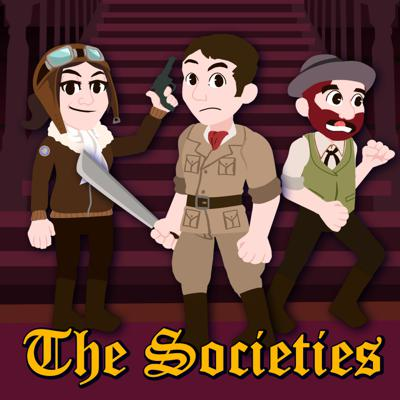 The Societies is a part role-playing game, part audio drama narrative drawing inspiration from the lore of theme parks created and narrated by Defunctland creator Kevin Perjurer. Follow the adventures of Dr. Chip Whitelsly PHD (Disney Dan), Clara Barnsworth (Alicia Stella), and Herbert Lister (RobPlays) and friends as they navigate a world inspired by character and settings found in Disney, Universal, Cedar Fair, and other theme parks around the world. Part of Kevin Perjurer's Themed Alternative, an experimental themed media production house.