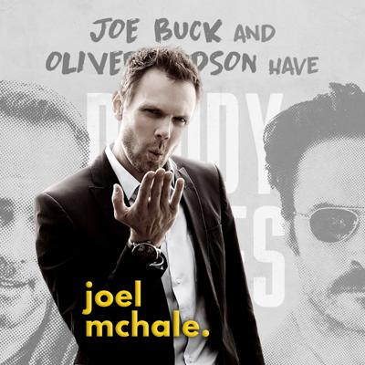 """Cover art for Joel McHale: """"A Brilliantly Funny Guy"""""""