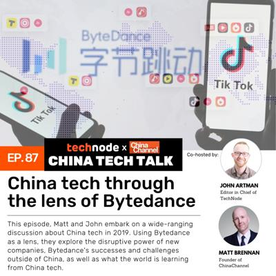 Cover art for 87: China tech through the lens of Bytedance