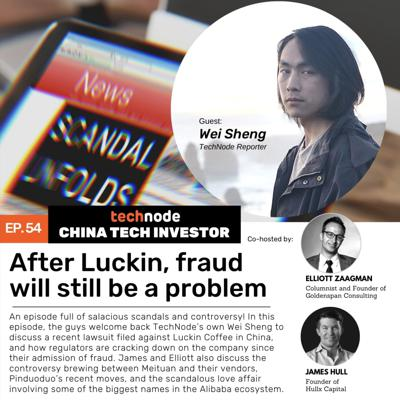 Cover art for 54: After Luckin, fraud will still be a problem. With Wei Sheng