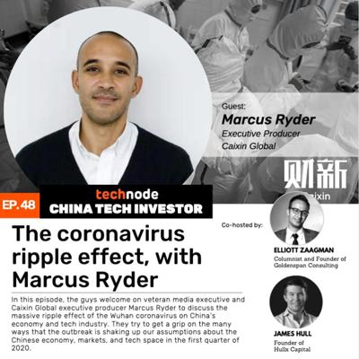 Cover art for 48: The coronavirus ripple effect, with Marcus Ryder