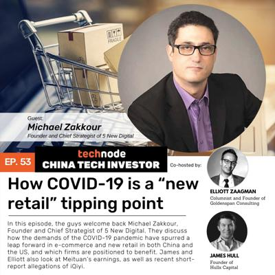 Cover art for 53:  How COVID-19 is a 'new retail' tipping point, with Michael Zakkour