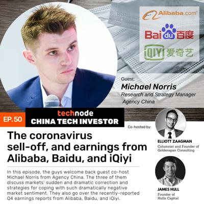 Cover art for 50: The coronavirus sell-off, and earnings from Alibaba, Baidu, and iQiyi