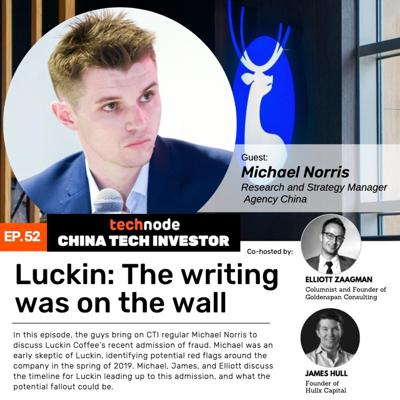 Cover art for 52: Luckin - The writing was on the wall with Michael Norris