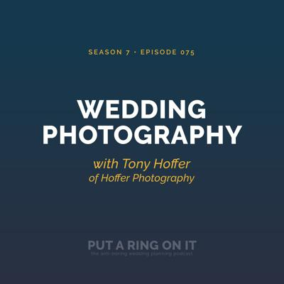 Cover art for Wedding Photography with Tony Hoffer of Hoffer Photography