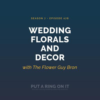 Cover art for Wedding Florals and Decor with The Flower Guy Bron