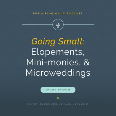 Cover art for Going Small: Elopements, Mini-monies, and Microweddings