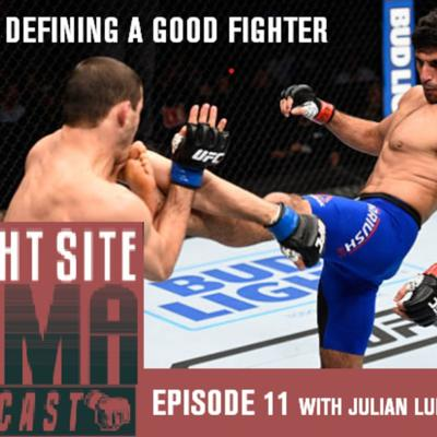 Cover art for The Fight Site's MMA Podcast, Episode 13: Defining A Good Fighter feat. Julian Lung