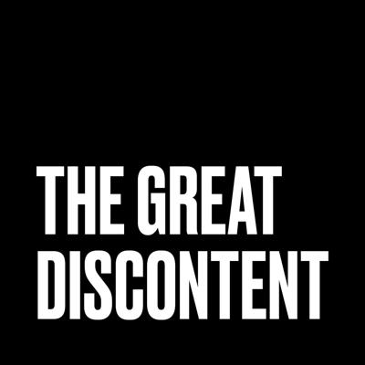 Long-form interviews for your ears, The Great Discontent podcast features in-depth conversations with today's artists, makers, and risk-takers.