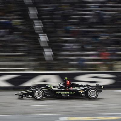 Cover art for IndyCar Puts on a Show under the Lights in Texas